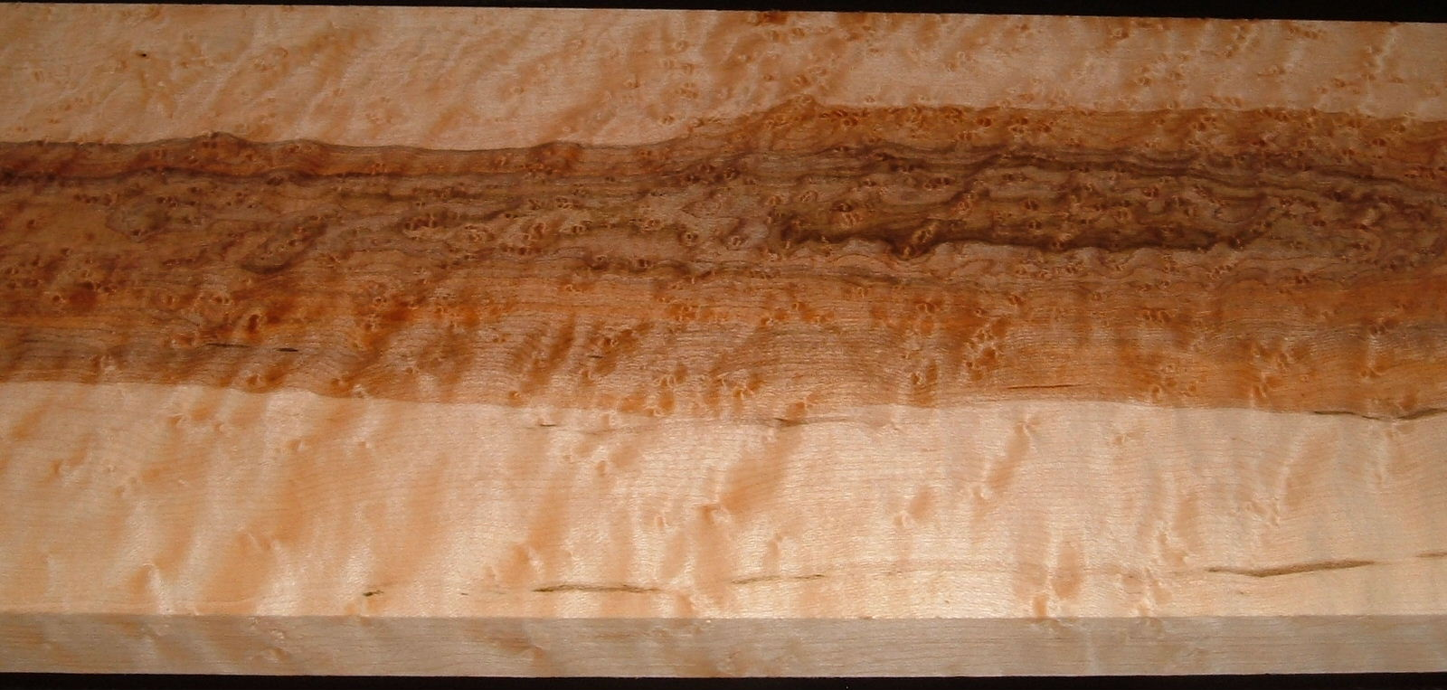 BEM2010-71, 7/8x8x49, Quilted Birdseye Hard Maple