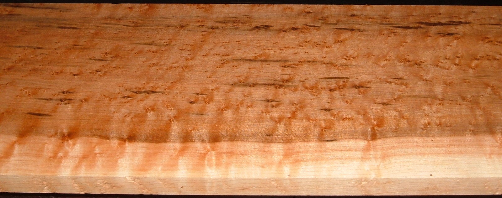 BEM2010-77, 3/4x7-1/4x48, Quilted Birdseye Hard Maple