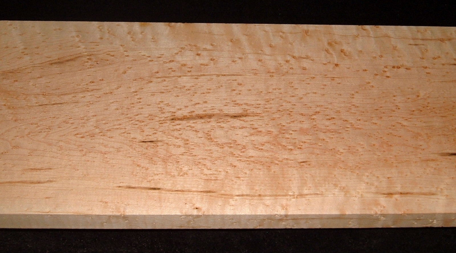 BEM2103-41, +13/16x8x40, Quilted Birdseye Hard Maple