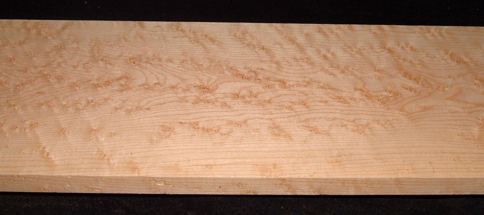 BEM2103-44, +7/8x7-1/4x46, Quilted Birdseye Hard Maple