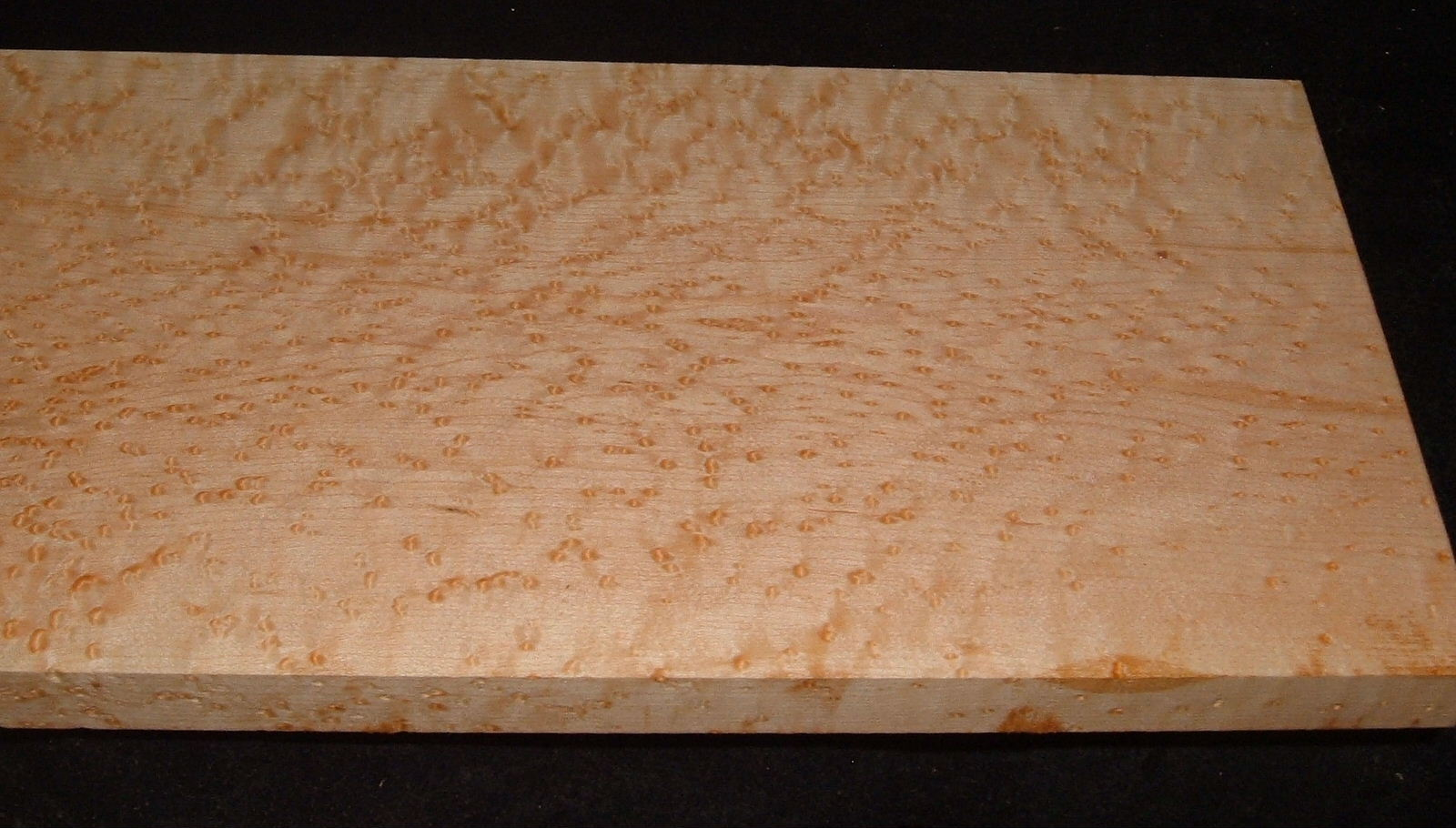 BEM2103-55, +7/8x7-3/8x32, Quilted Birdseye Hard Maple