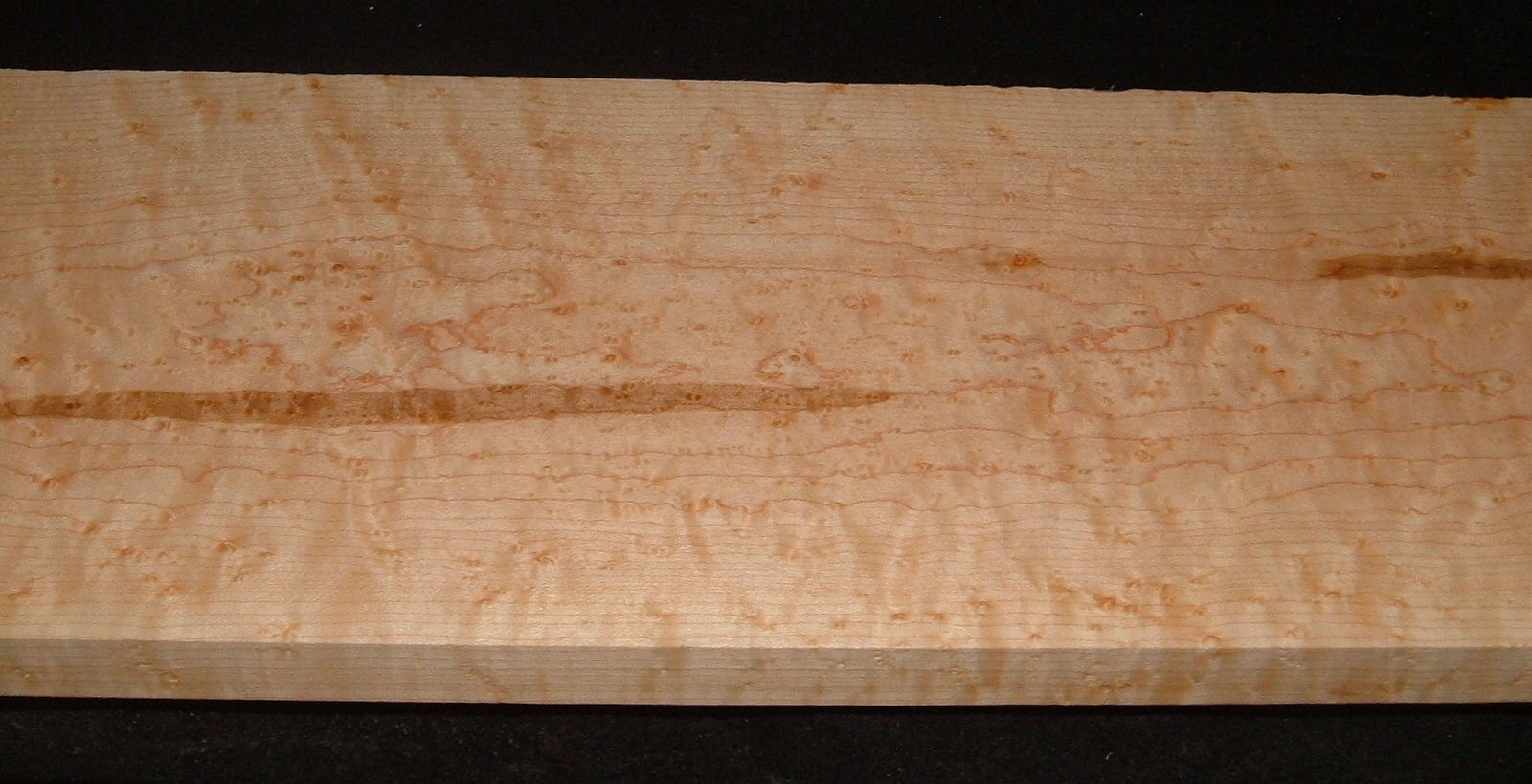 BEM2103-56, +7/8x7x51, Quilted Birdseye Hard Maple