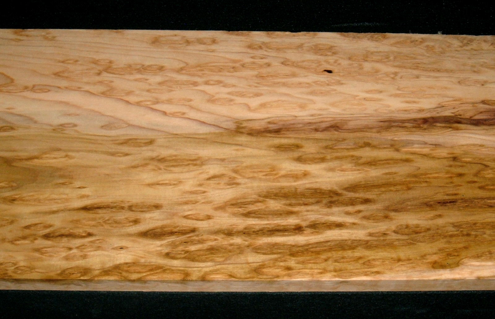 BP2102-4,  3/4x9-7/8x44, Burly Figured Rainbow Poplar
