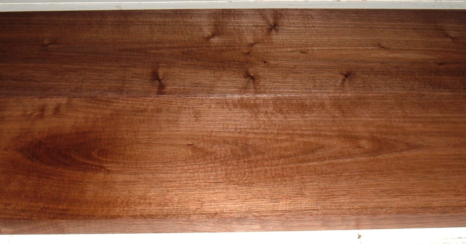 BW2003-46JJ, 2 bds, 11/16x6-1/2x42, 11/16x6-5/8x42, Plain Black Walnut