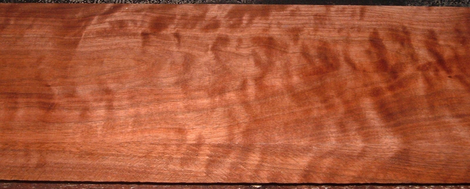 BW2101-27, 1-7/8x7-1/2x59, Curly Figured Black Walnut, Gun stock Blank