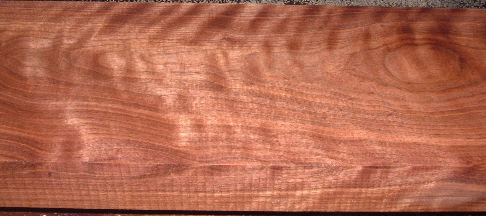 BW2101-28, 2x8x60, Curly Figured Black Walnut, Gun stock Blank