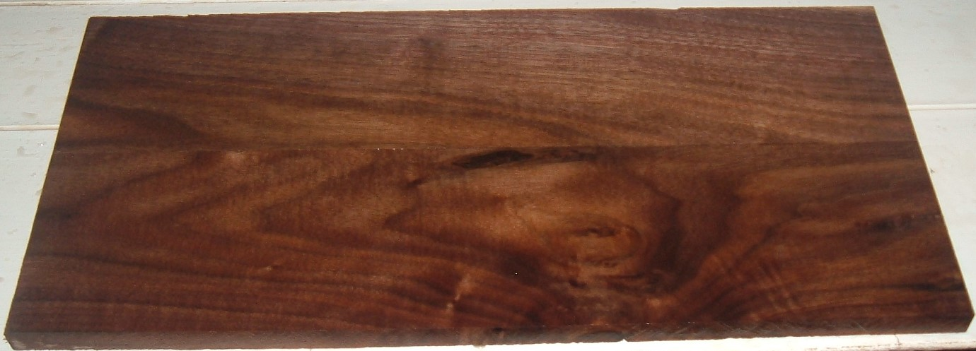 S-2382Y, 1/2X4-1/4X17+,  1/2X4-1/8X17+, Curly Black Walnut