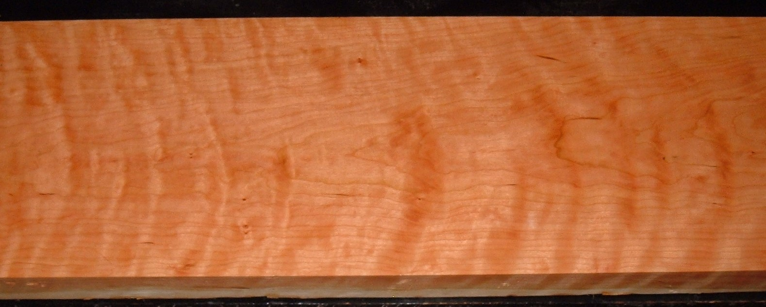 C2006-119JJ, 1-3/4x9-1/2x62, Curly Figured Cherry