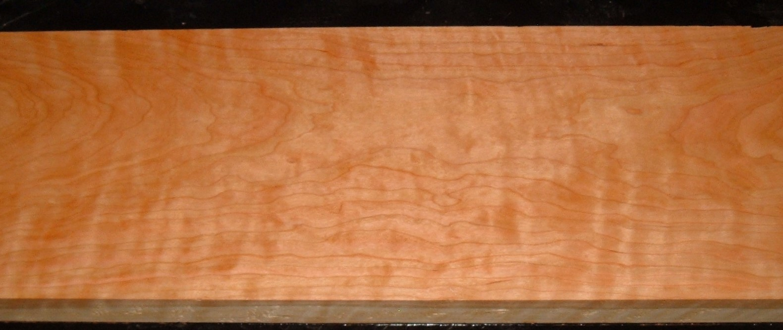 C2006-133JJ, 1-7/8x9-5/8x50, Curly Figured Cherry