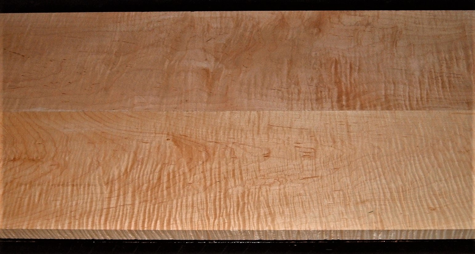 HM2010-180JJ, 2 bd, 7/8x7x45, 13/16x7-7/8x45, Curly Tiger Hard Maple