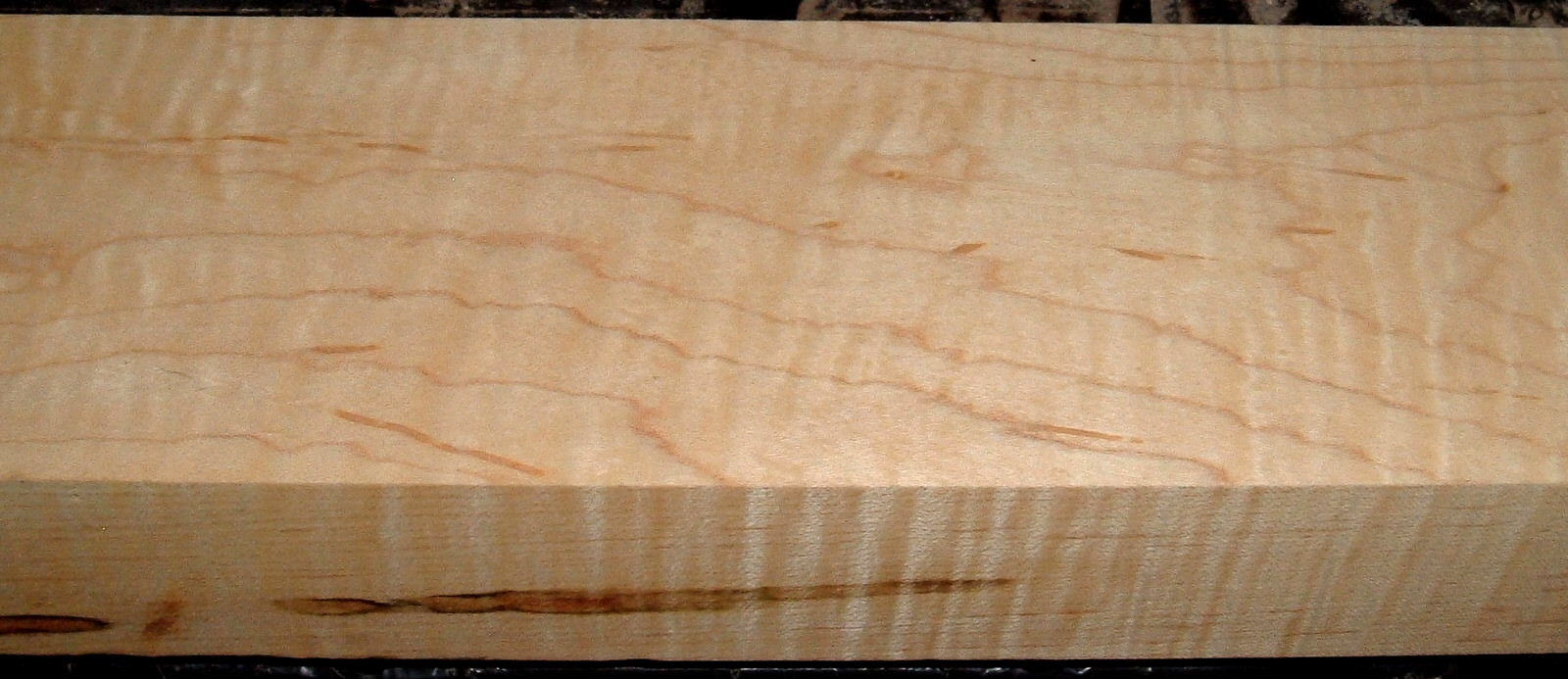 HM1905-74, 1-15/16x4-1/4x30, Curly Tiger Hard Maple