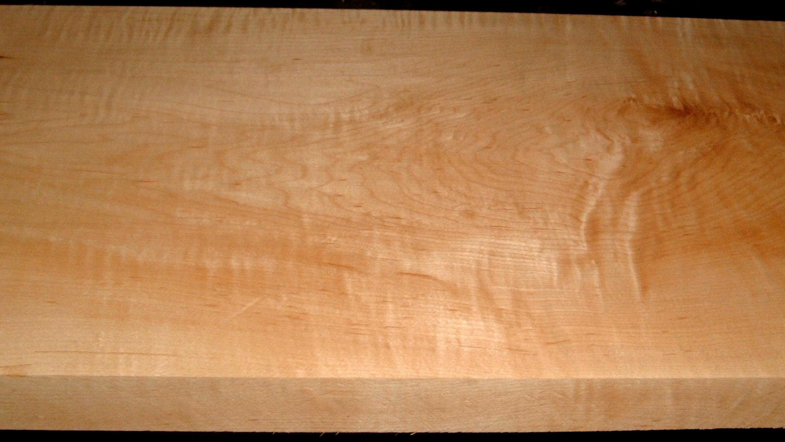 HM1909-145, 1-11/16x12x43, Curly Tiger Hard Maple