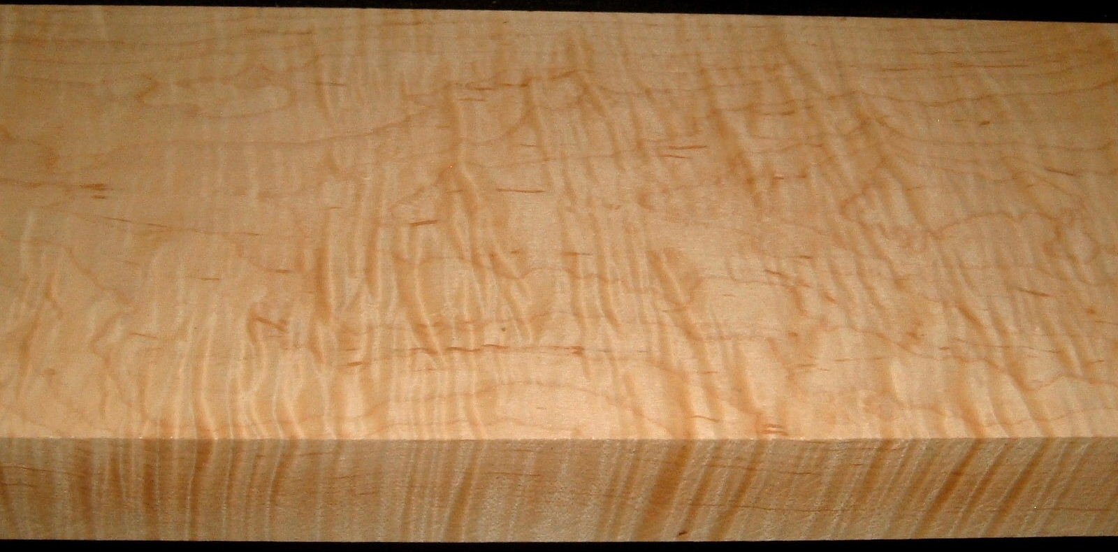 HM2001-3, 1-13/16x7-1/4x40, Curly Tiger Hard Maple
