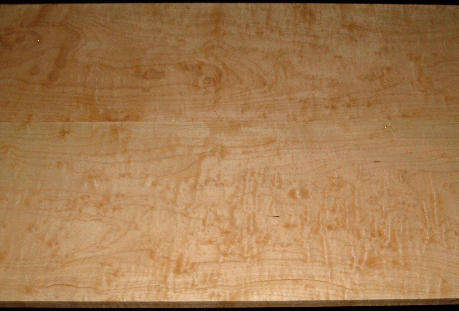 HM2001-47, 2 Bd Set, +13/16x10-1/8x45, +13/16x10-7/8x45, Rare Find! Bubbly Blistered, Curly Hard Maple