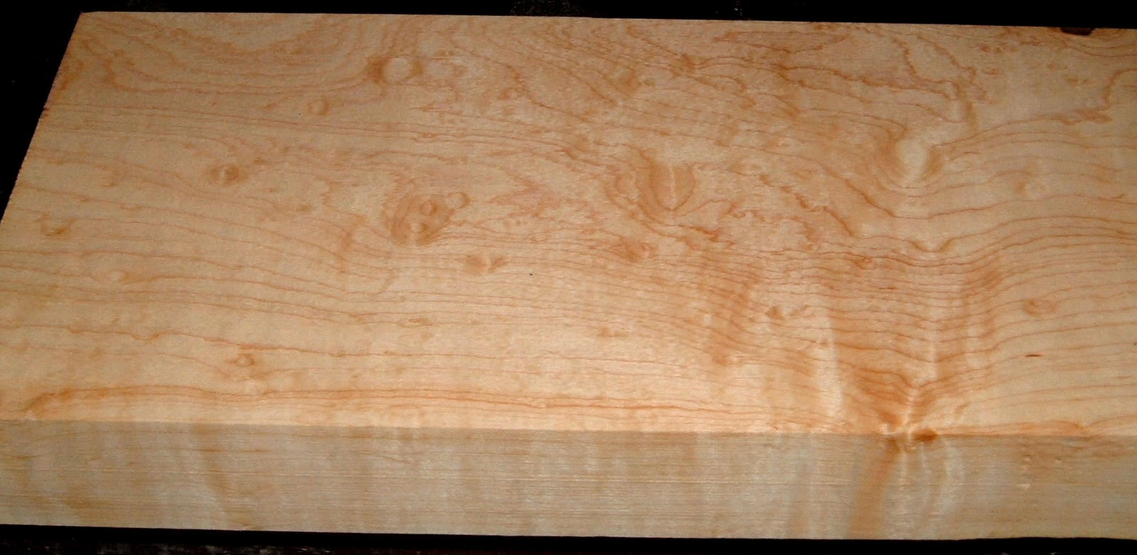 HM2007-108, 1-3/4x6-3/4x46, 8/4 Blistered Figured Hard Maple