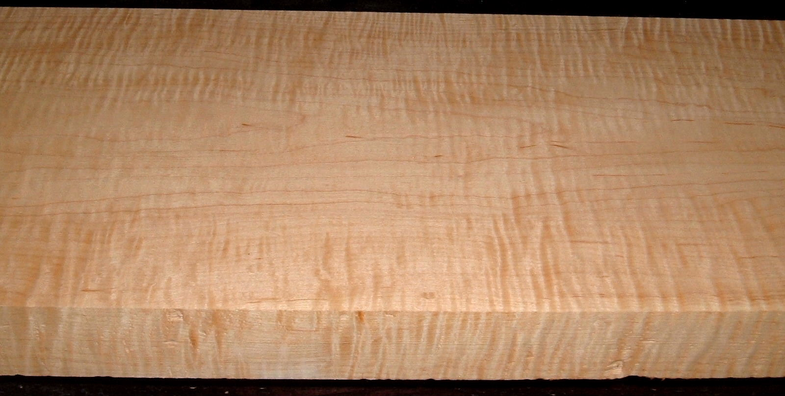 HM2007-125, 1-7/8x9-1/2x43, 8/4 Curly Tiger Figured Hard Maple