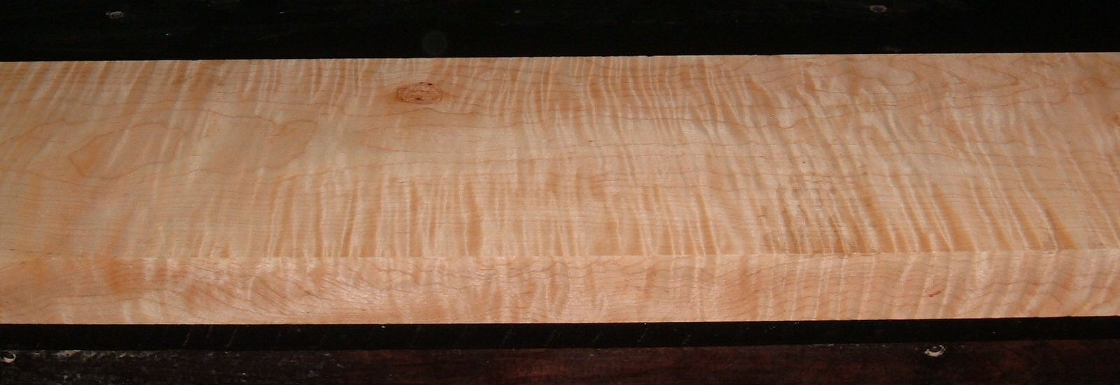 M2003-240, +1-7/8x7-1/4x62, Figure Curly Tiger Maple