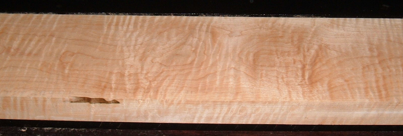 M2003-241, 1-11/16x6-7/8x52, Figure Curly Tiger Maple