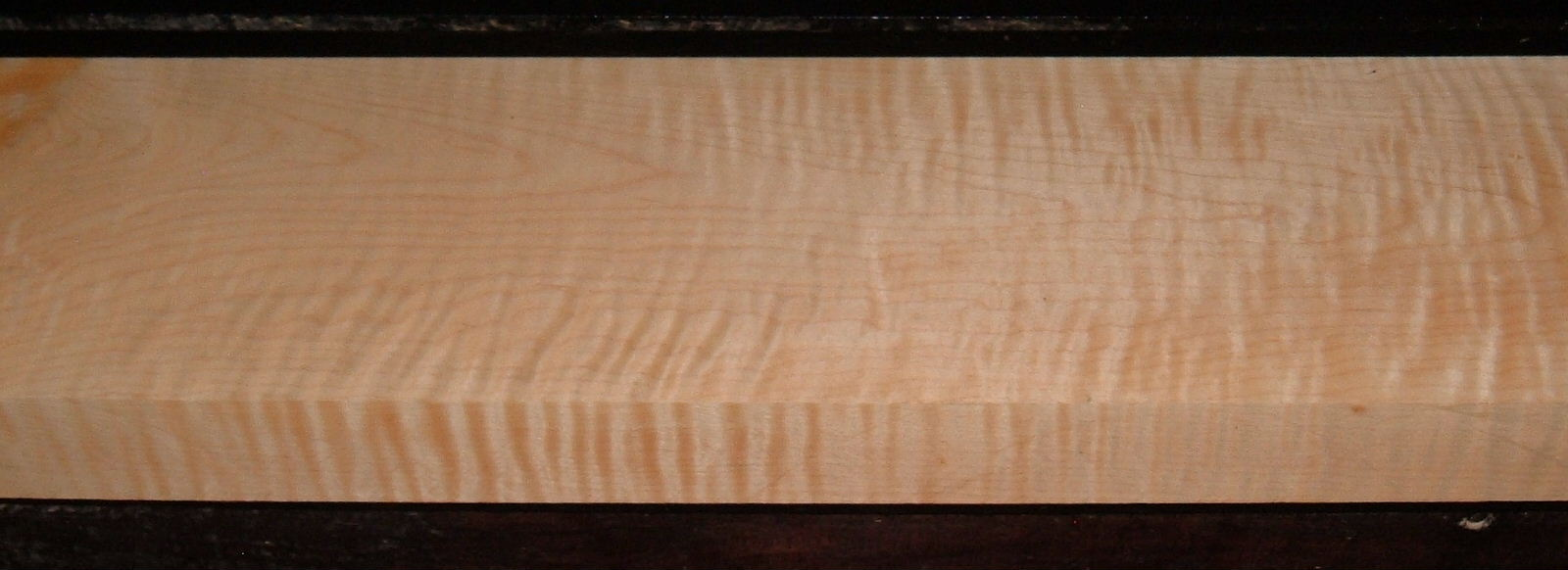 M2003-242, 1-3/4x6-3/8x46, Figure Curly Tiger Maple