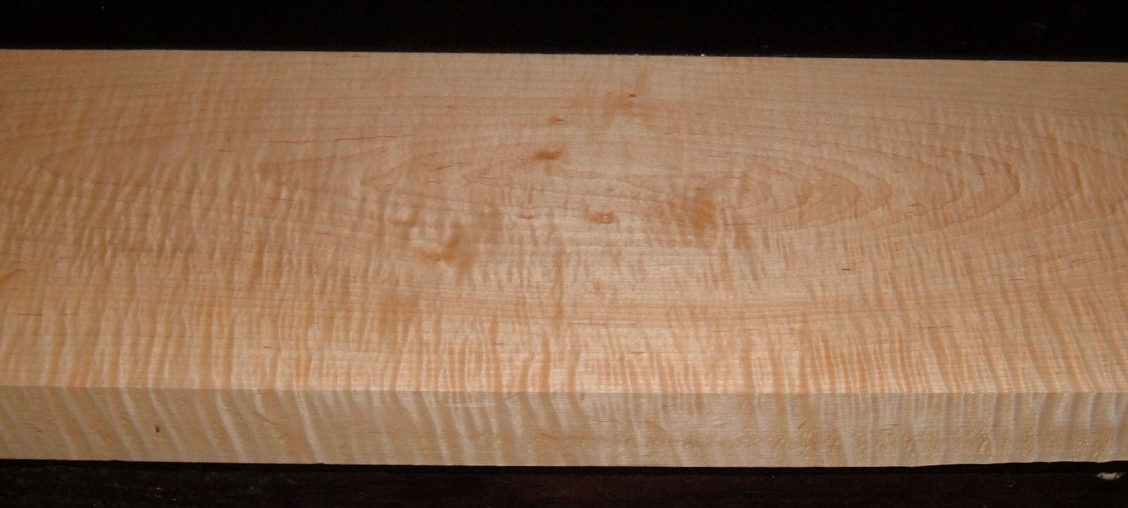 M2003-243, 1-13/16x7-3/8x35, Figure Curly Tiger Maple