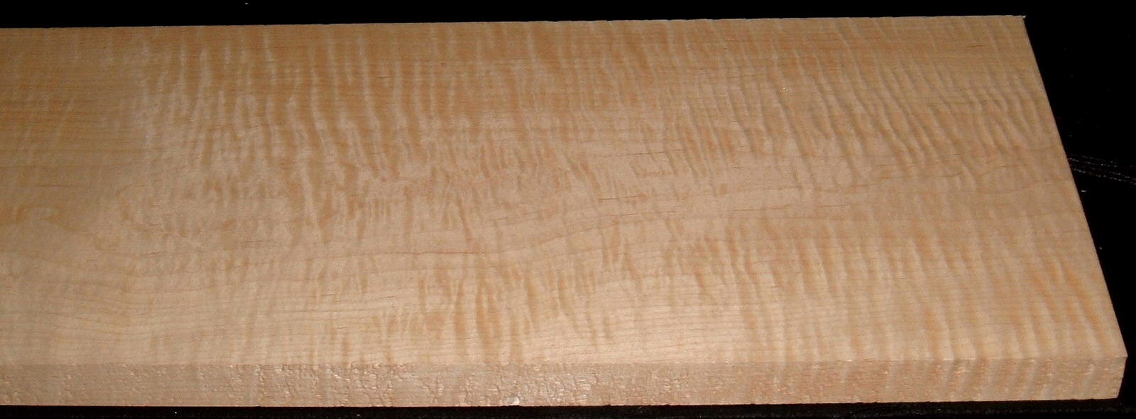 M2007-571, 1-3/16x11-1/4x48, Curly Tiger Maple