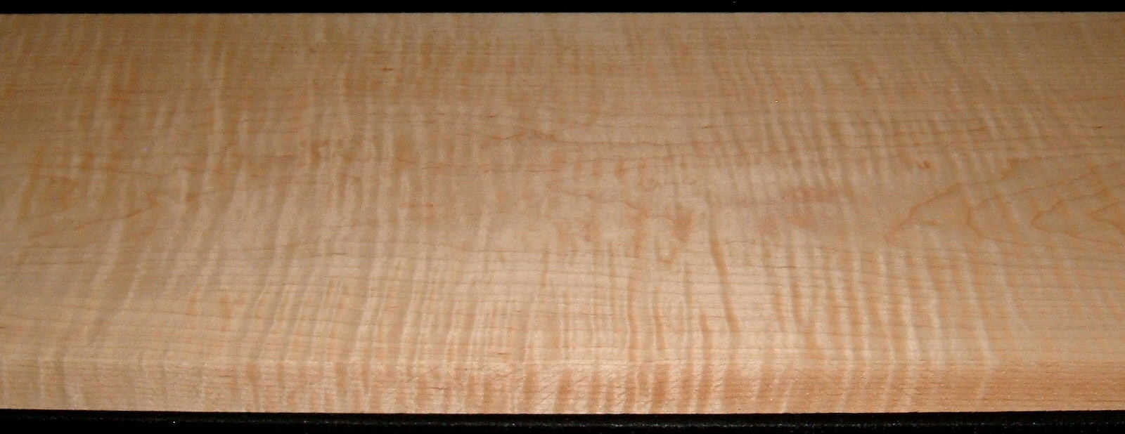 M2007-573, 1-3/16x11-1/2x50, Curly Tiger Maple