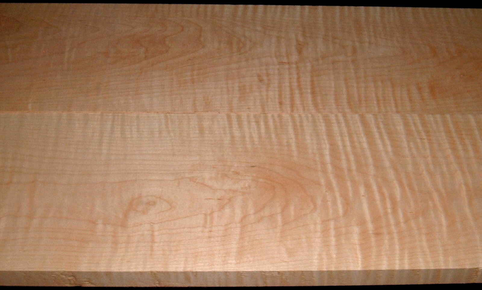M2007-575,2 Bd Set, 1-1/8x8-3/8x55,1-1/8x8-3/8x55, Curly Tiger Maple