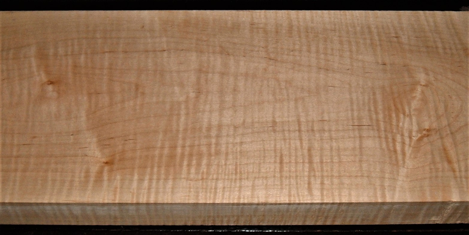 M2007-584JJ, 1-5/8x8x43, Curly Tiger Maple