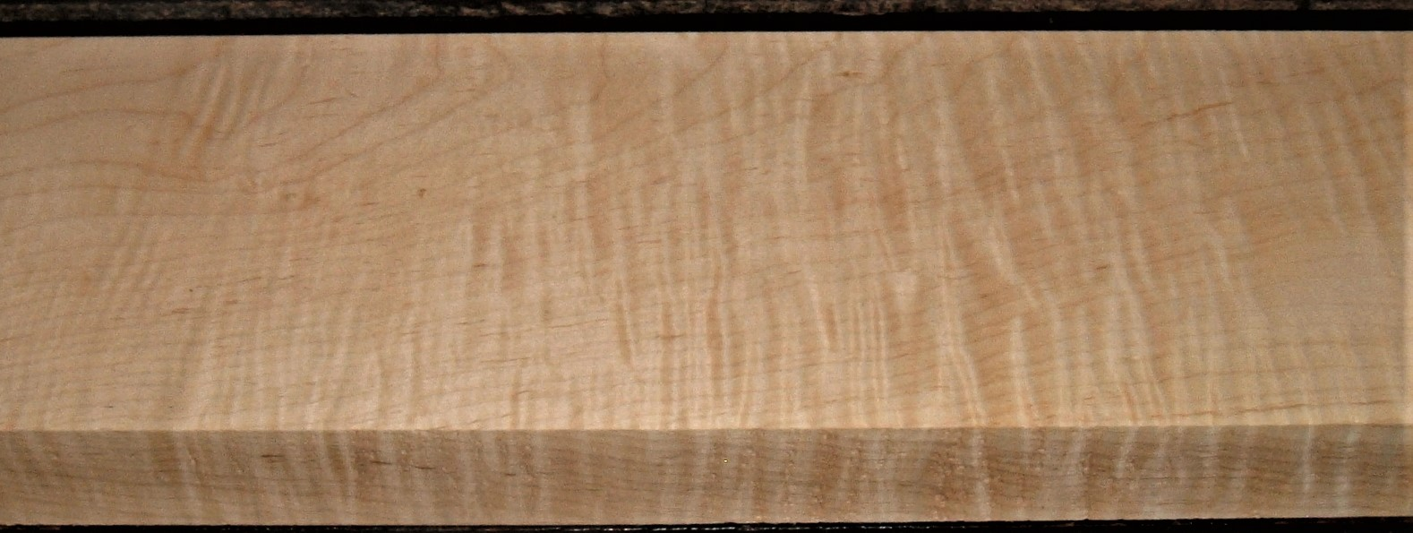 M2007-585JJ, 1-3/4x6-1/4x43, Curly Tiger Maple