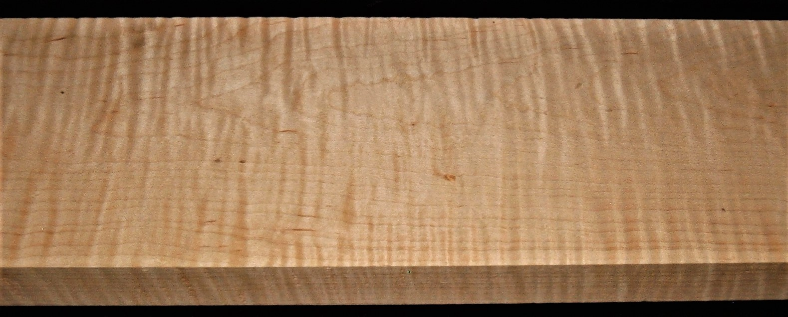 M2008-659JJ, 1-3/4x7-1/2x45, Curly Tiger Maple
