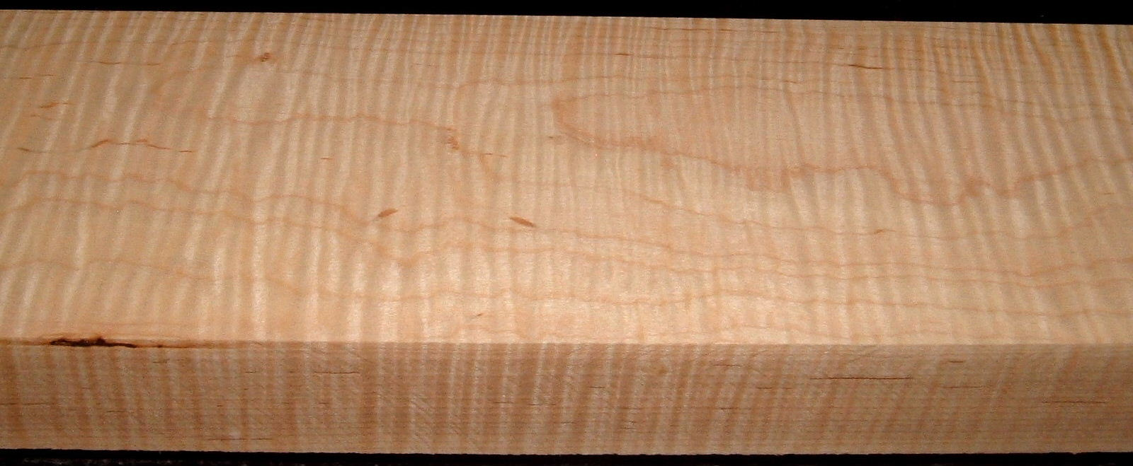 M2009-721, 1-13/16x5-1/4x46, Curly Maple