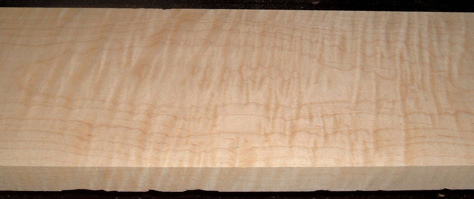 M2102-121, 1-1/8x6-1/2x47, Curly Tiger Maple