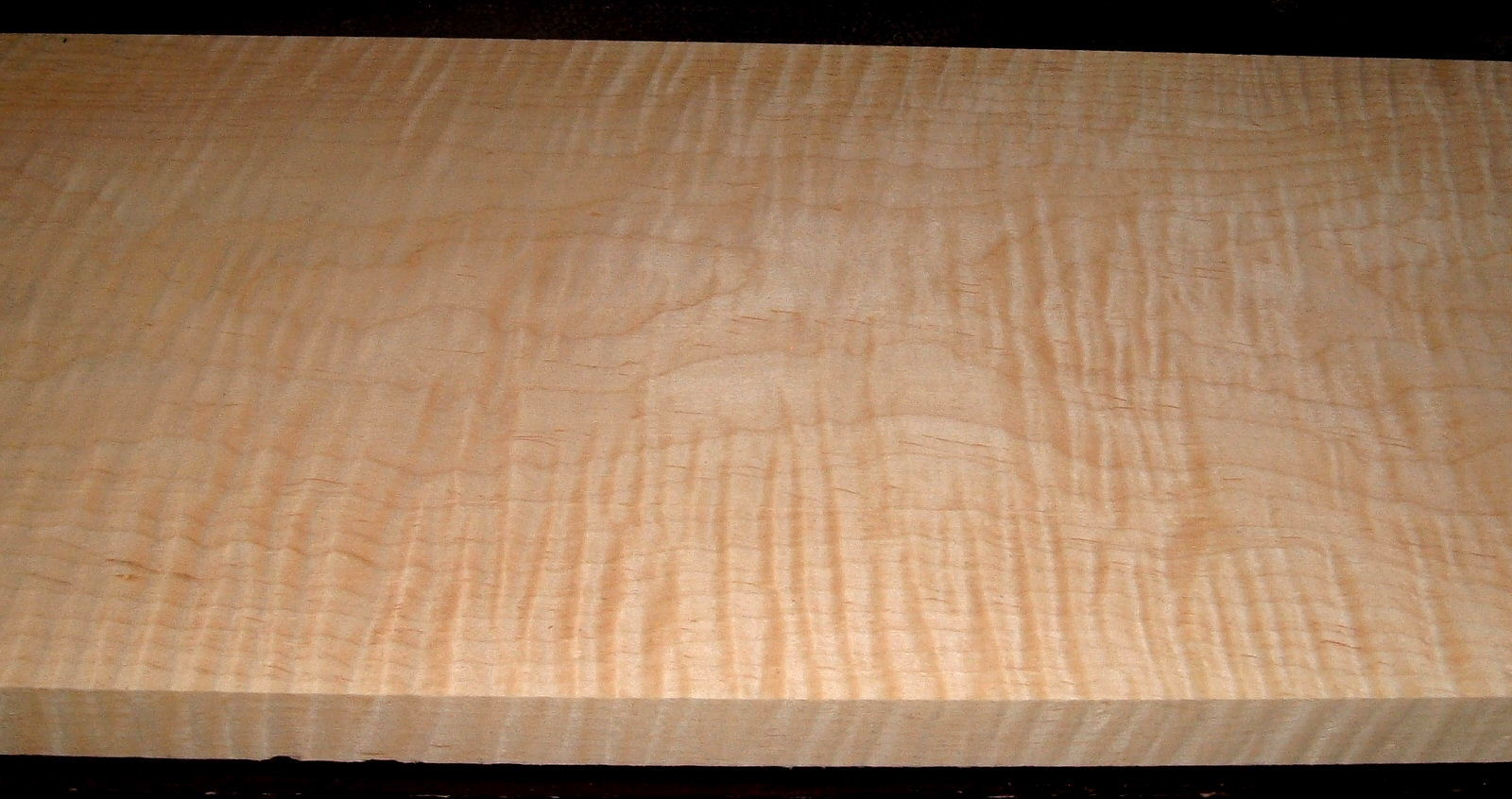M2102-131, 1-1/16x11x44, Curly Tiger Maple