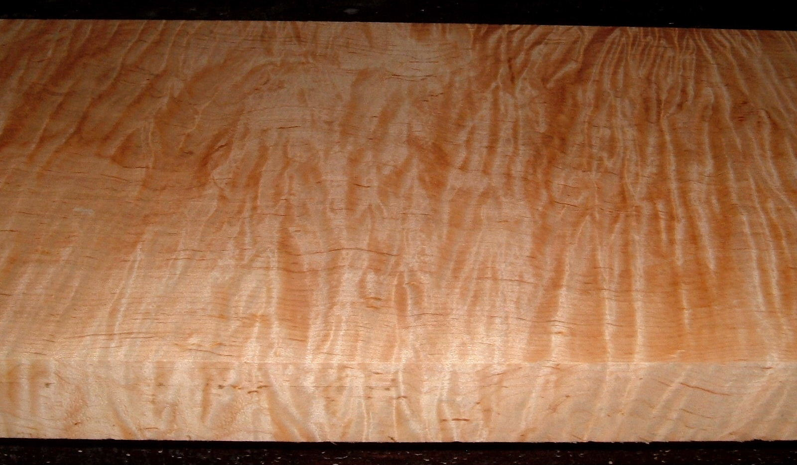 M2103-177, 1-3/4x11-1/4x38, Curly Tiger Maple