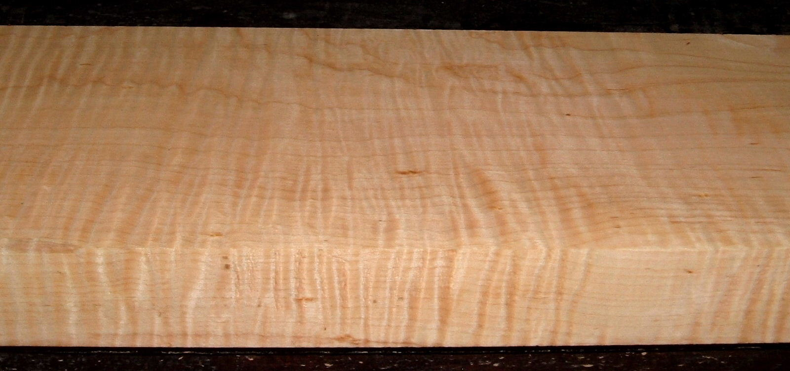 M2103-191, 1-15/16x6-1/2x44, Curly Tiger Maple
