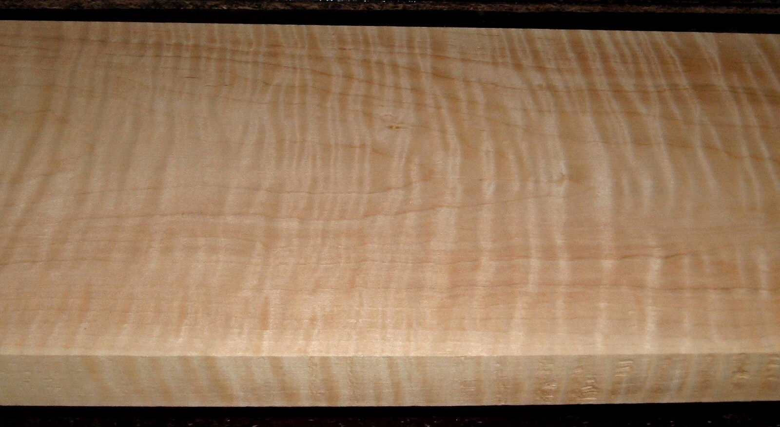 M2104-293, 1-1/16x7-3/4x36, Curly Tiger Maple