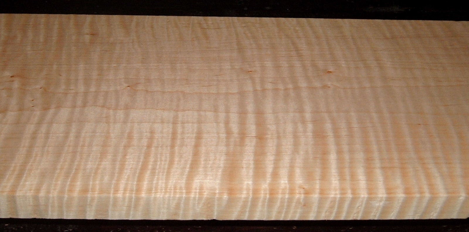 M2104-295, 3/4x7-3/8x47, Curly Tiger Maple