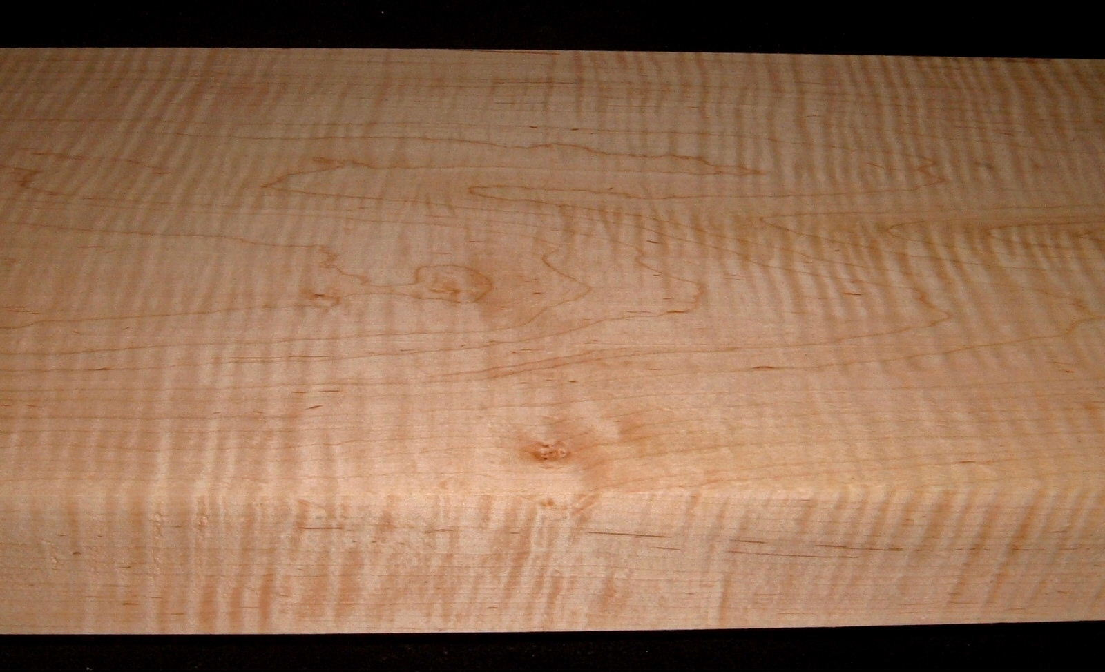 M2104-300, 2-3/4x13-1/4x53, 12/4 Curly Tiger Maple