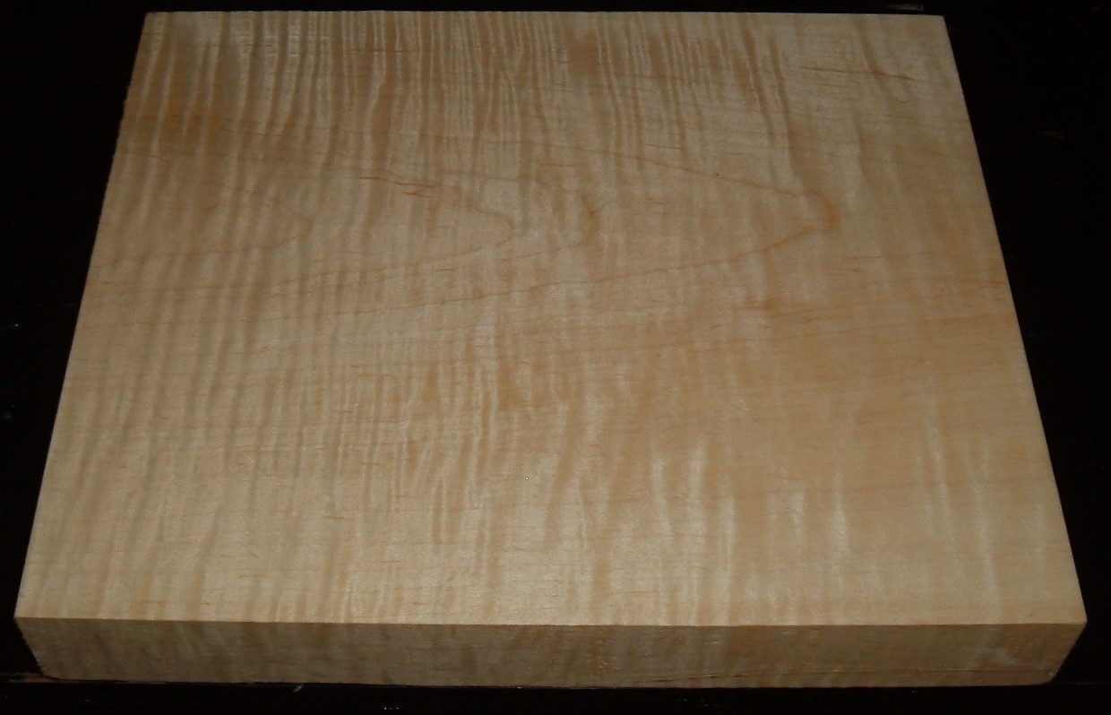 MS2005-2546JJ, 1-1/2x9-7/8x11, Curly Tiger Maple
