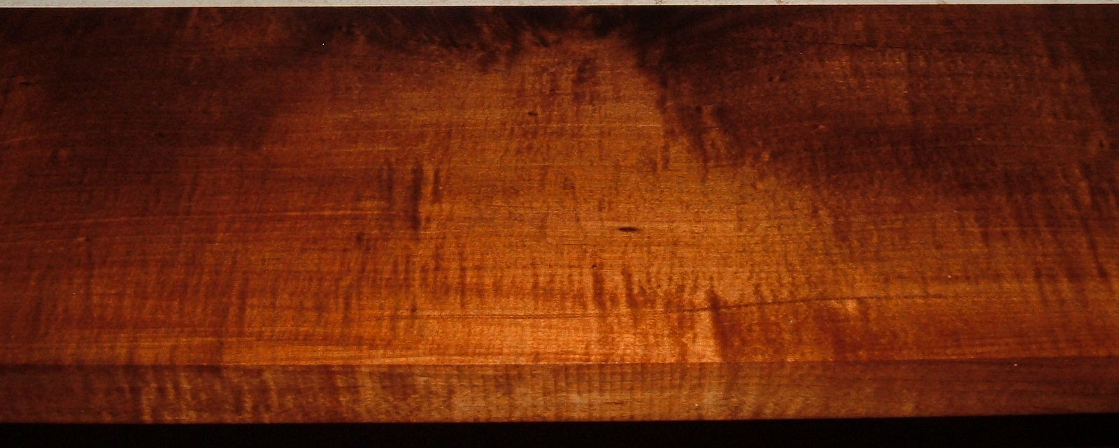 QRM1903-12, 1-1/4x6-1/2x47, Roasted Torrefied Quartersawn, Curly Tiger Maple