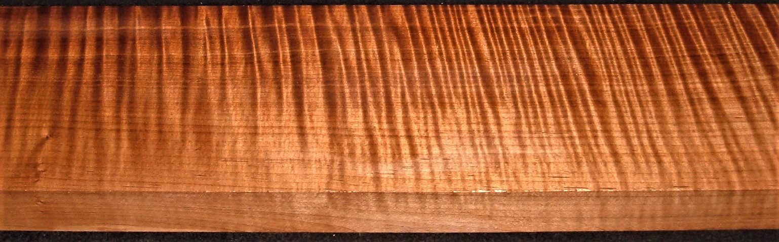 QRM2010-307JK, 1-11/16x6-1/4x47, Quartersawn Roasted Curly Maple