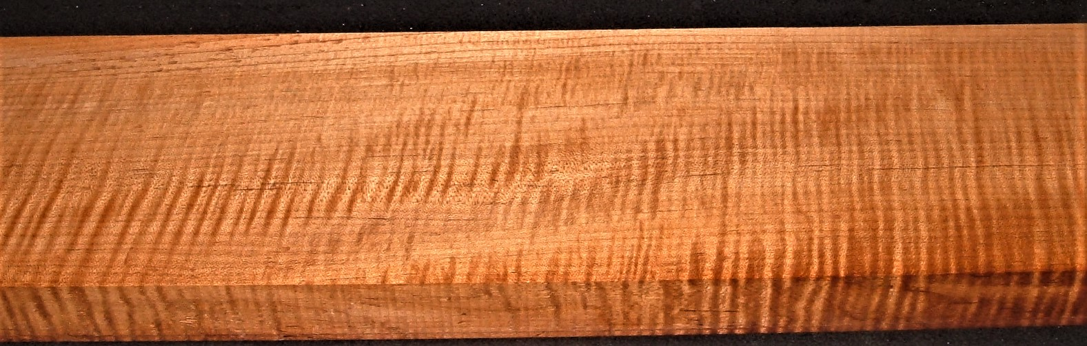 QRM2010-309JK, 1-11/16x6-1/2x50, Quartersawn Roasted Curly Maple