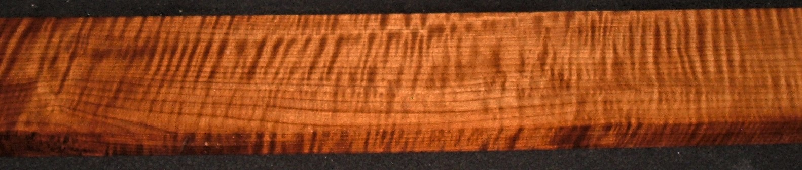 QRM2011-367JK, 15/16x4-7/8x47, Quartersawn Roasted Curly Maple
