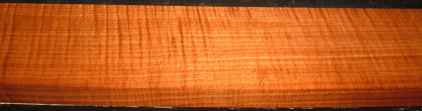 QRM2101-18JK, 1-5/16x4-3/8x53, Quartersawn Roasted Curly Maple