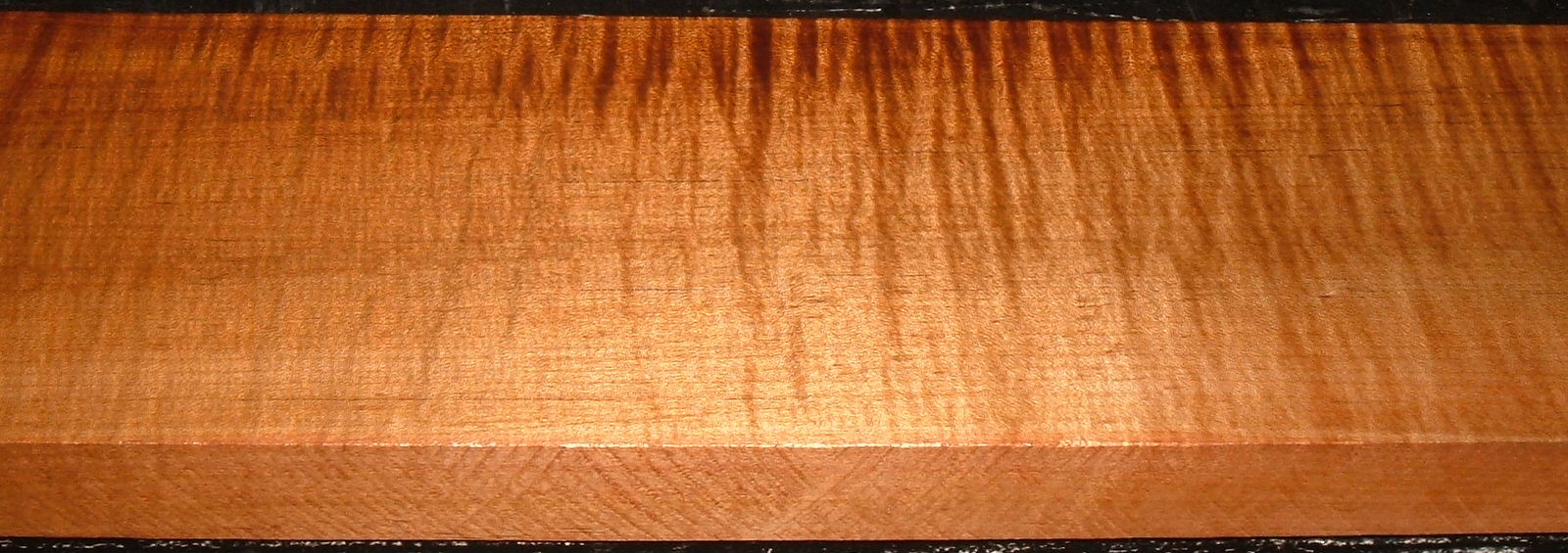 QRM2101-7JK, 1-3/16x5x46, Quartersawn Roasted Curly Maple