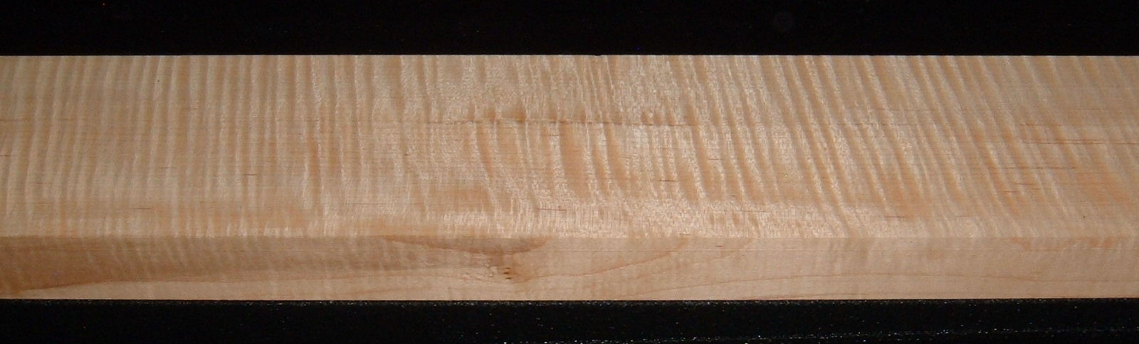 QS2007-17, 1-1/4x3-5/8x42, Quartersawn Curly Tiger Maple