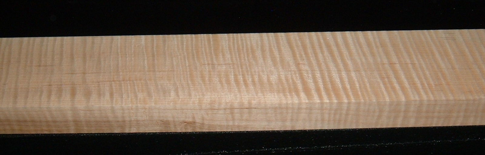 QS2007-23, 1-3/16x3x43, Quartersawn Curly Tiger Maple