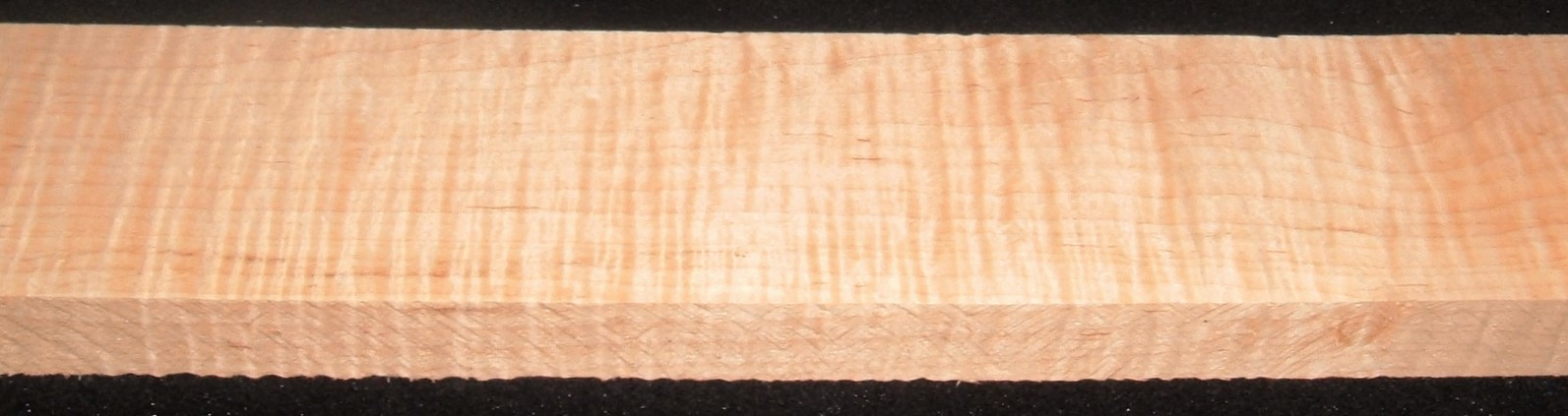 QS2104-39JK, 1-1/4x4-7/8x59, Quartersawn Curly Maple