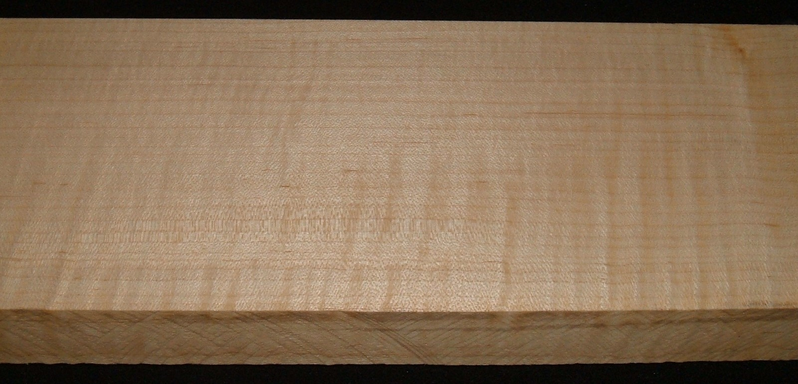QS2104-45JK, 1-5/16x4-3/4x38, Quartersawn Curly Maple