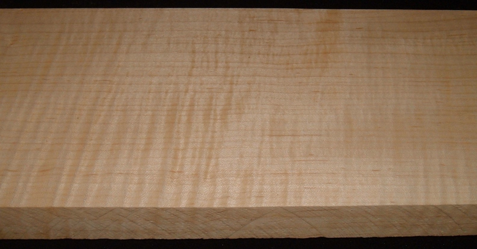 QS2104-52JK, 1-3/8x5-7/8x46, Quartersawn Curly Maple